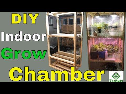 Easy DIY Indoor Grow Chamber (Indoor Greenhouse)