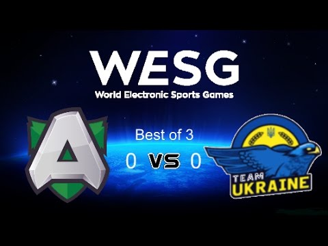 Dota2 : WESG Europe & CIS Finals Alliance vs Ukraine (Bo3)