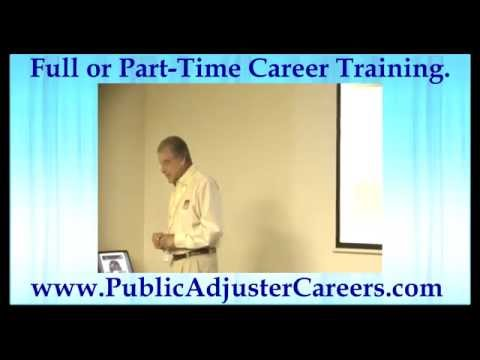 Pennsylvania Public Adjuster Training Schooling Career Free Metro top team