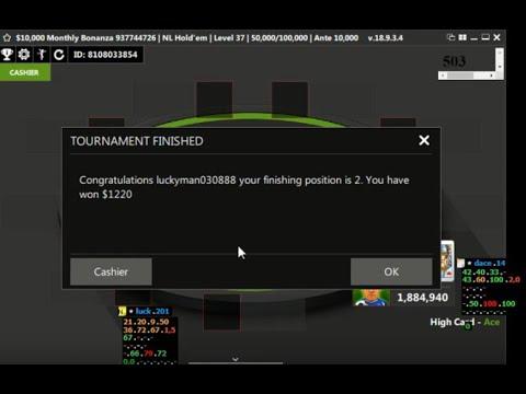 2 место и 1200$ призовых на титан покер