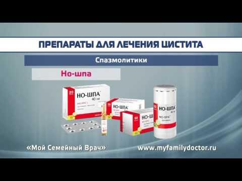 Обзор средств при цистите для снятия боли и от воспаления