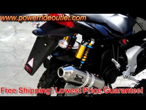 MotoBravo Hornet Stock 150cc vs  160cc Big bore kit    FunnyCat TV