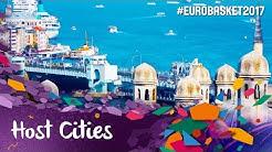 Helsinki, Tel Aviv, Cluj-Napoca, Istanbul - FIBA EuroBasket 2017 Host Cities