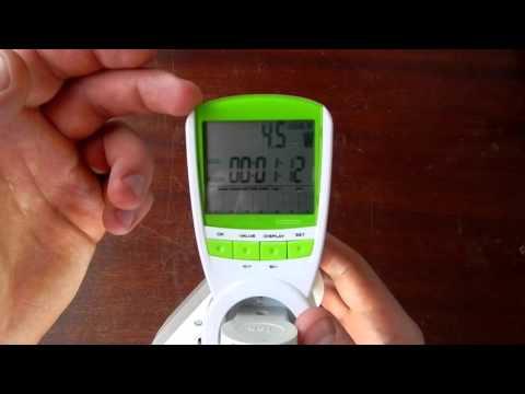 Ваттметр (энергометр) инструкция, обзор и тест