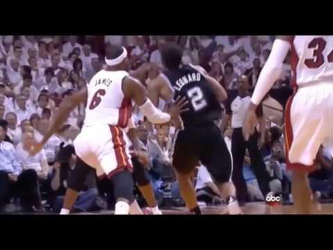 Kawhi Leonard Exposes LeBron's Overrated Defense 2017 NBA Finals