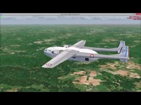 Largage de parachutistes en Nord 2501 .