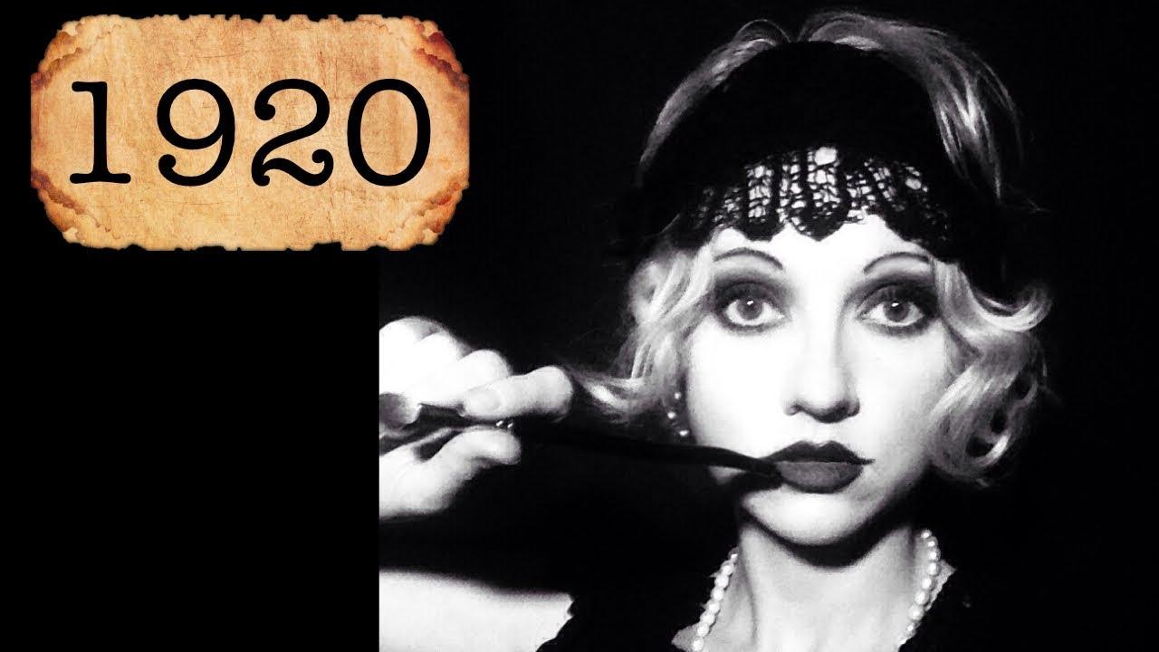 1920s Makeup Tutorial - YouTube