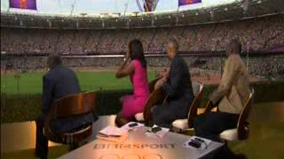 BBC Commentators, Denise Lewis & Colin Jackson