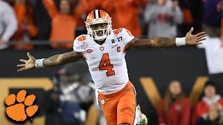 Deshaun Watson Throws Game-Winning TD. Clemson Beats Alabama To Win Title