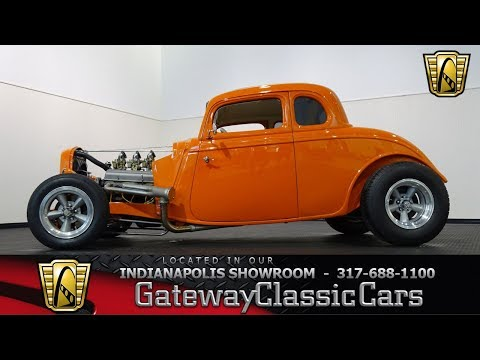 944- 1934 Ford Five Window Coupe