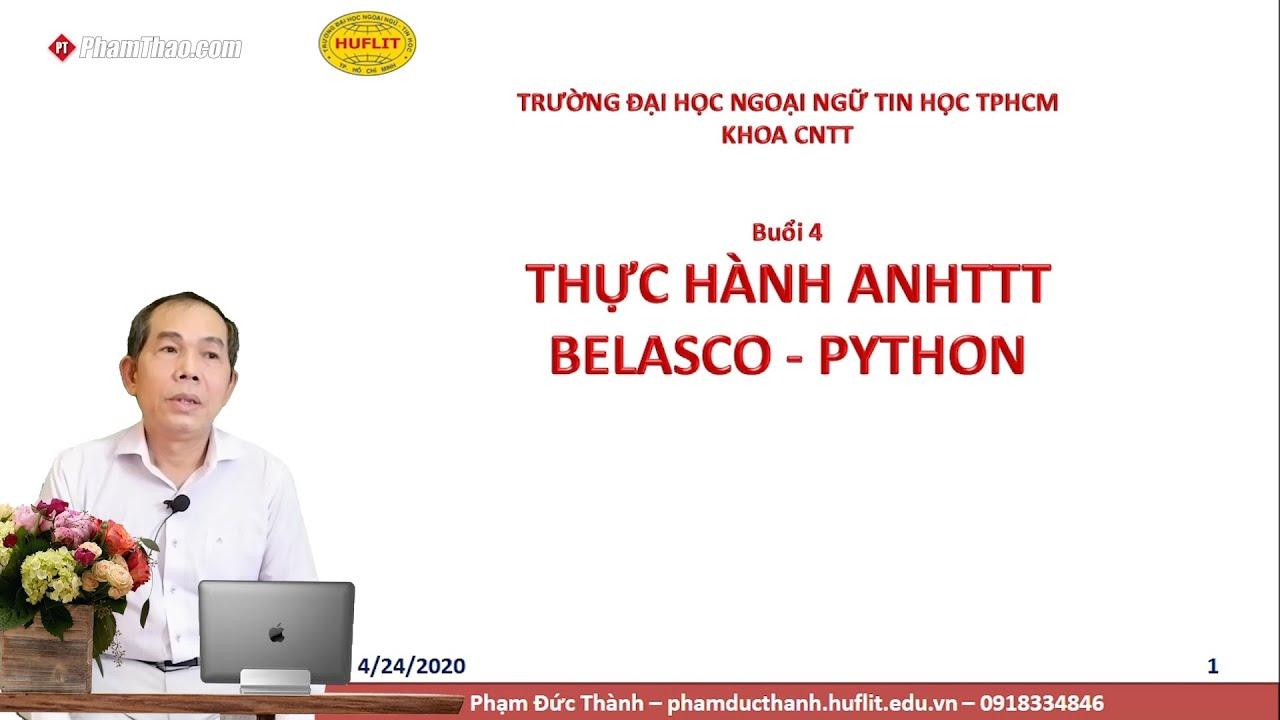 CNTT HUFLIT – Thực hành An ninh Hệ thống Thông tin Belasco ...