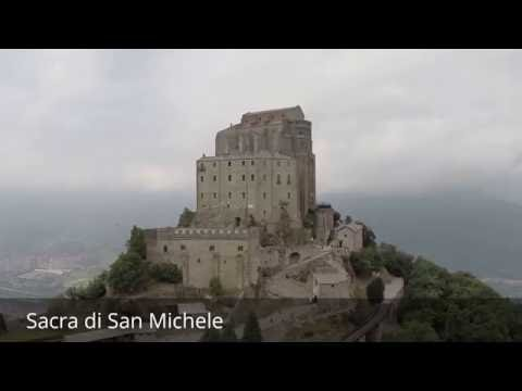 Places to see in ( Turin - Italy ) Sacra di San Michele