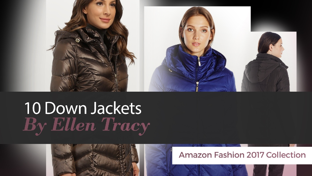 9d426d4e1ebd 10 Down Jackets By Ellen Tracy Amazon Fashion 2017 Collection - YouTube