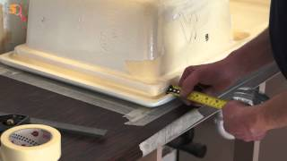 Tommy's Trade Secrets - How to Cut a Sink into a Laminate Worktop