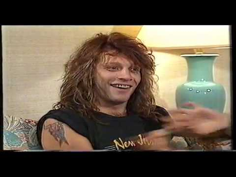 Bon Jovi Interview 1989 MTV Australia