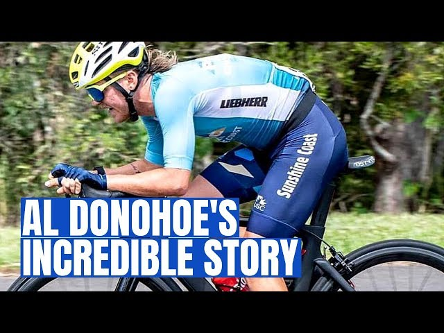 Best Cycling Moe/Mullet Combo in World Sport (Al Donohoe's Inspirational Story)
