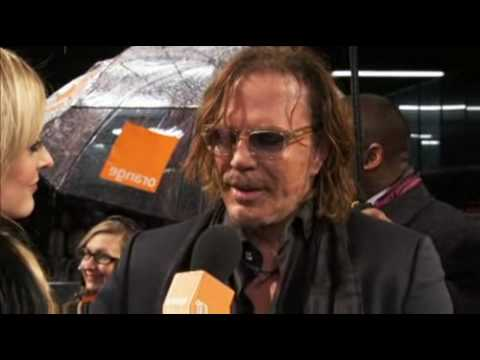 BAFTA 2009 | Mickey Rourke | Orange UK