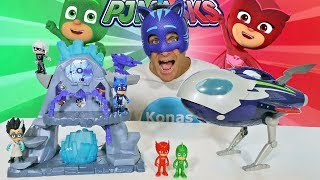 PJ Masks Super Moon Adventure Playset ! || Disney Toy Review || Konas2002