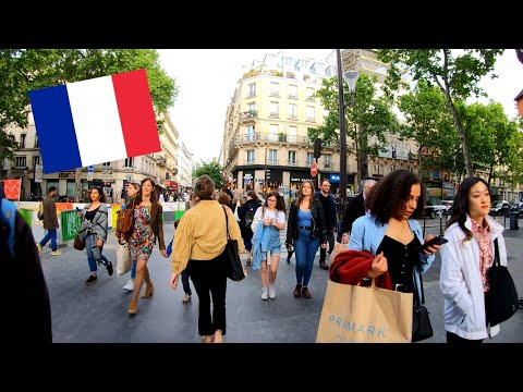 ⁴ᴷ Paris walking tour 🇫🇷 les Halles and Rambuteau, France 4K