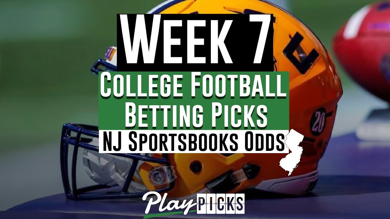 College football betting picks week 7 betting the point spread explained synonym