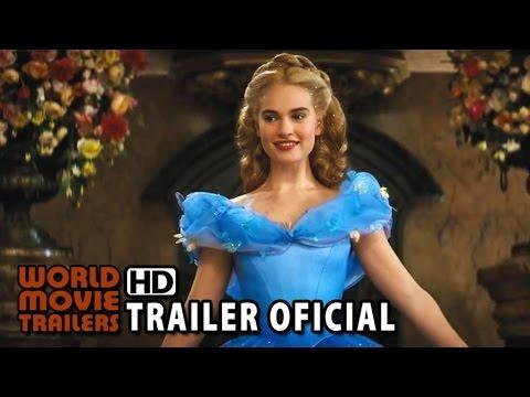 Cinderela Trailer Oficial Legendado 2015 Youtube