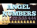 ANGEL NUMBER MEANING READING - 1:11 2:22 3:33 4:44 (Timeless) 👼👼👼