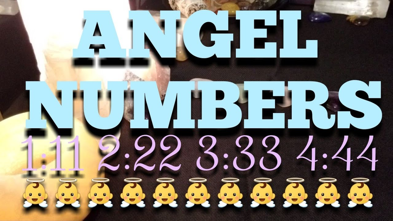 ANGEL NUMBER MEANING READING - 1:11 2:22 3:33 4:44 | Timeless 👼👼👼