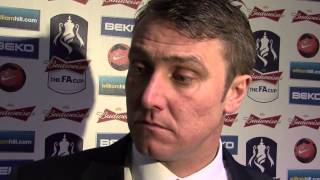 Clark disappointed after FA Cup exit | Birmingham City 1-2 Swansea City