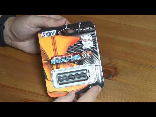 Память USB Flash 128 ГБ за 764 руб. Очередной китайский развод?