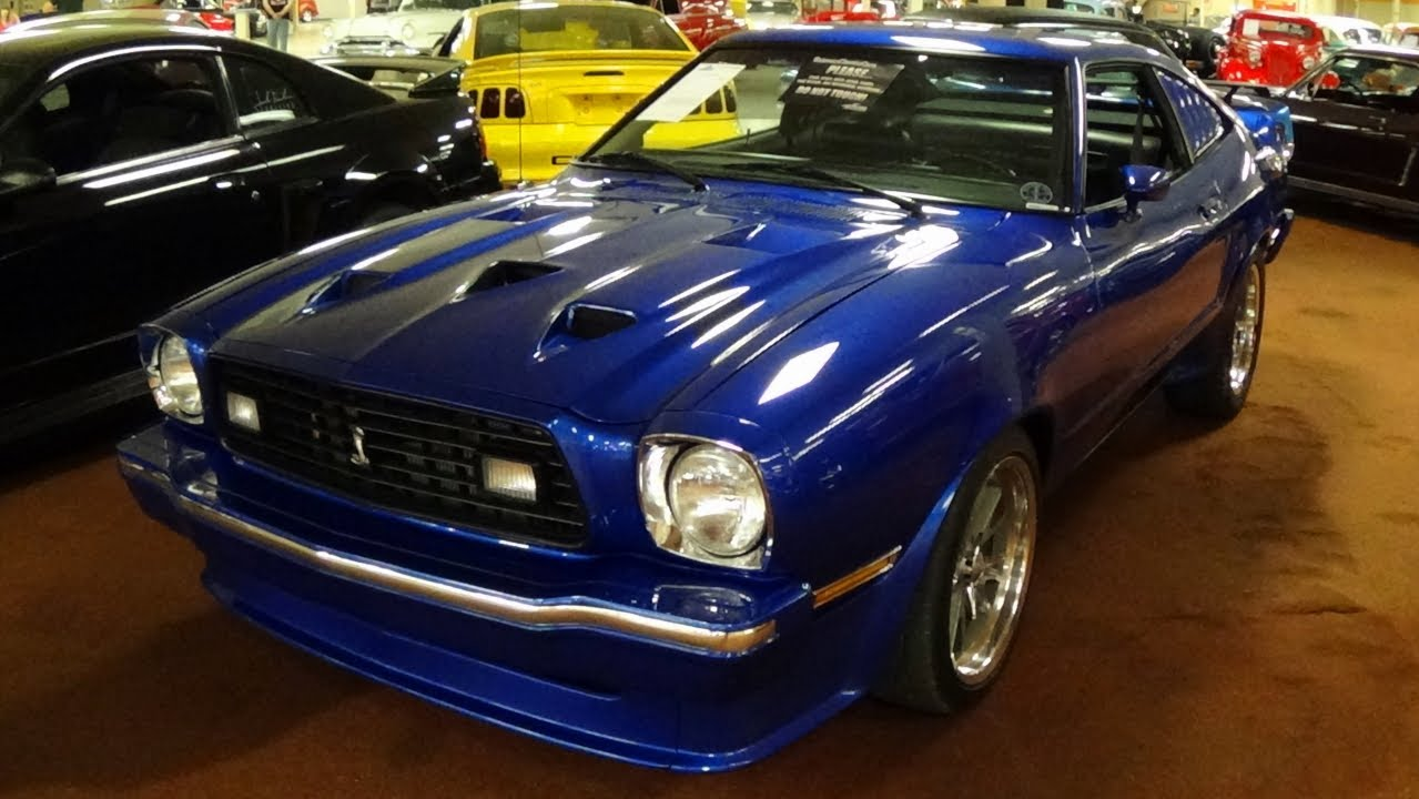 1978 ford mustang ii king cobra 289 v8 4 bbl - nicest i've seen