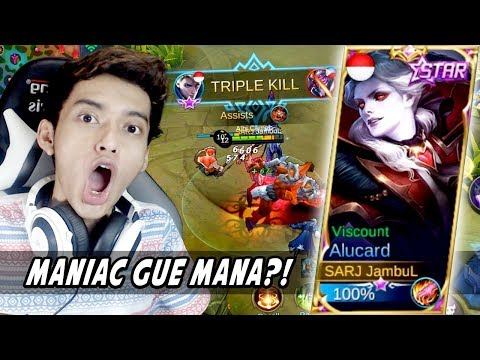 GAGAL MANIAC NEW SKIN VISCOUNT ALUCARD!! - Mobile Legends Indonesia