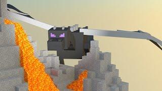 видео Как вырастить яйцо дракона в minecraft? Без модов! (Особый механизм для взращивания) в майнкрафт