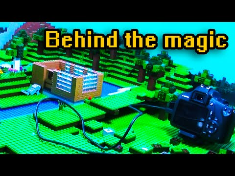 Minecraft the Lego Movie Making of