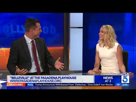 Pitch Perfect's Anna camp Stopped by to talk about her time on stage