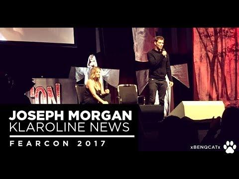 Klaroline  Joseph Morgan at FearCon 2017  only