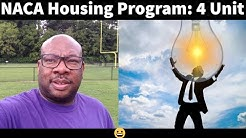 NACA Housing Program: Buy a 4 unit Apartment Complex and Live Rent or Mortgage Free