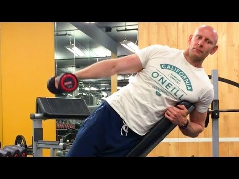 Incline Side-Lying Lateral Raise