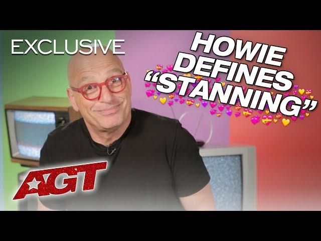 Howie Mandel Translates Stan Language, Hilarity Ensues - America's Got Talent 2019
