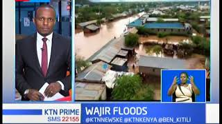 One person killed and hundreds displaced by floods in Wajir
