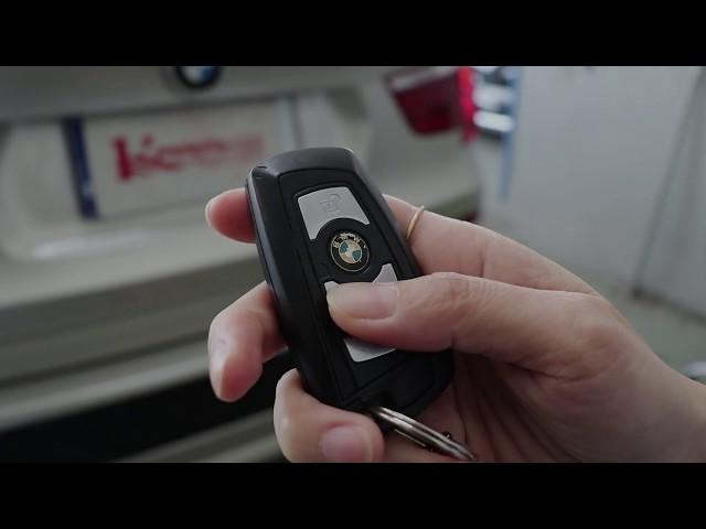 ระบบฝากระโปรงท้ายไฟฟ้าใน BMW X3 (F25)