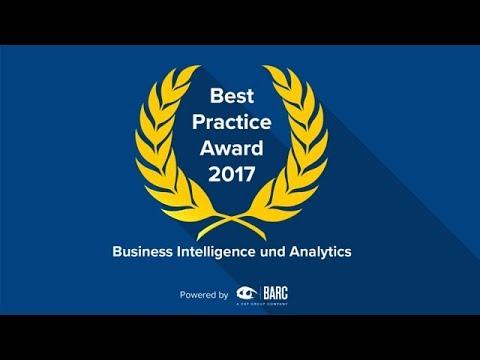 Die Finalisten des BARC Best Practice Award für Business Intelligence & Analytics 2017