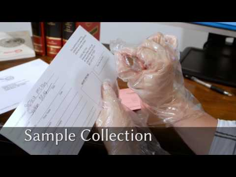 CODIS Sample Collection