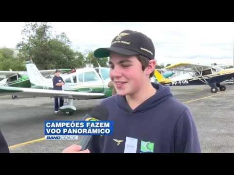 Premiação do III Torneio de Aviões de Papel Colégio do Bosque Mananciais- Band Cidade TV BAND