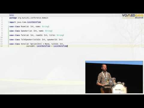 VDB16 -  Reactive Database Mapping with Scala and Slick - Jacek Kunicki