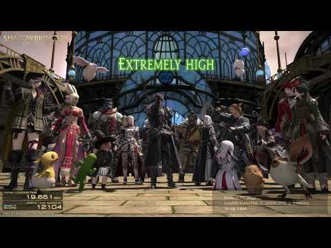 Final Fantasy XIV Shadowbringers Benchmark Download