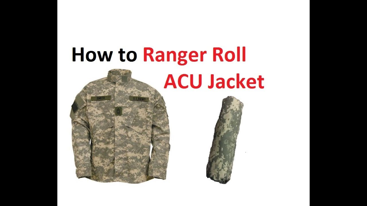 how to wear army acu