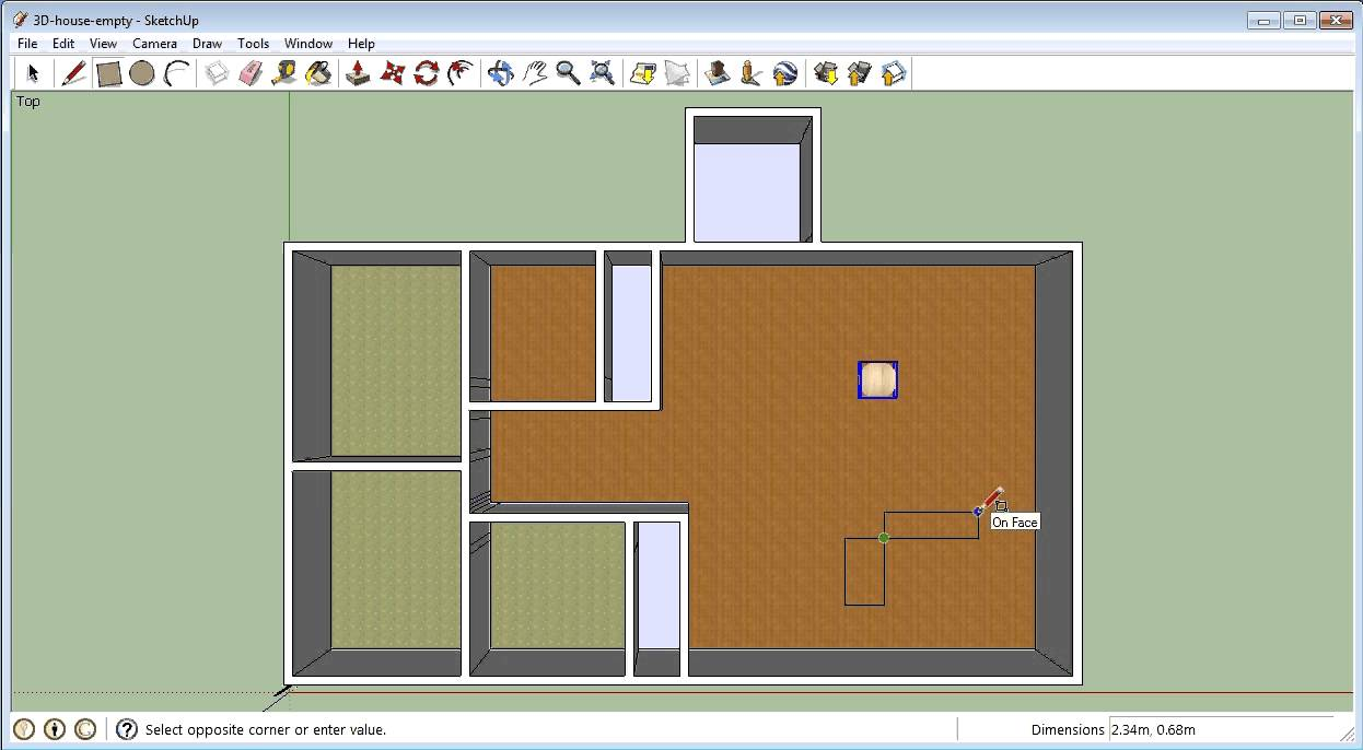 Good 06 Google Sketchup   Adding Furniture Into Your House