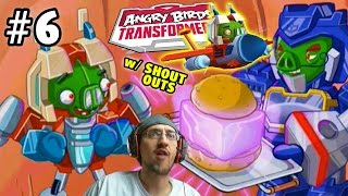 Lets Play Angry Birds Transformers Part 6: Energon STARSCREAM Unlocked plus Shout Outs