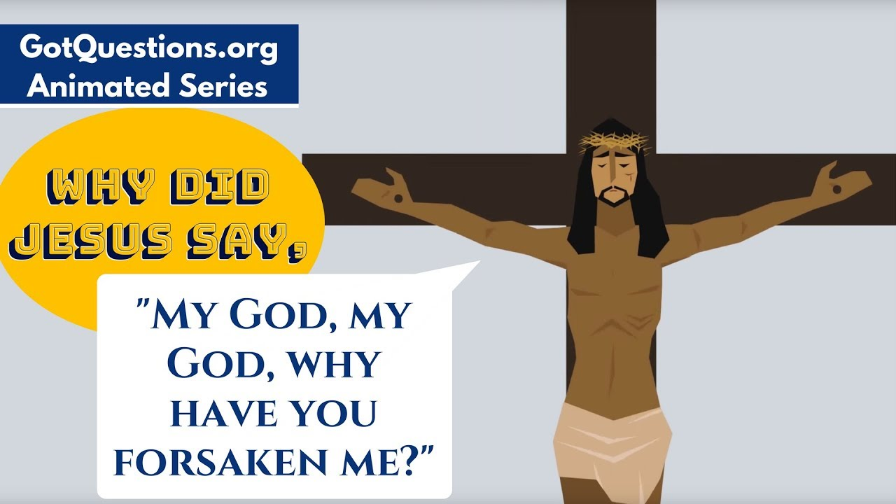 Why did Jesus say,