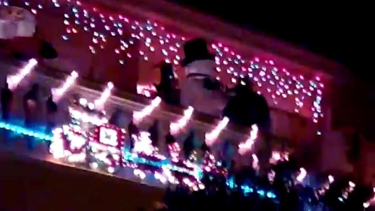 Decoraci n balc n navidades 14 15 youtube - Decoracion de balcones ...